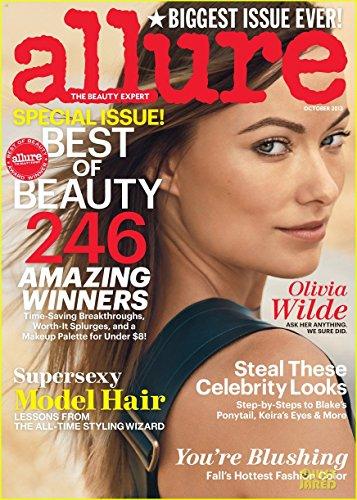 Allure Magazine (October, 2013) Olivia Wilde (Allure Magazine Best Beauty)