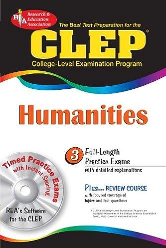 clep humanities w cd rom clep test preparation patricia van arnum rh amazon com clep humanities study guide pdf humanities clep exam study guide
