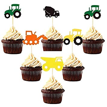 Decoración para tarta de camión - para niños, bricolaje ...
