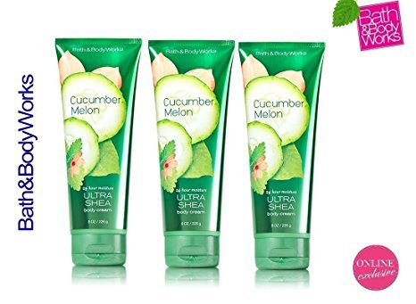 Bath and Body Works Cucumber Melon Triple Moisture Body Crea