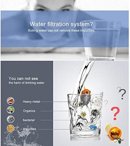 Filtro De Agua De Acero Inoxidable 4L Máquina De Agua Destilada Purificador De Destilación Vivienda Uso De Destilador De Agua Pura Manual Ruso (Blanco): Amazon.es: Hogar