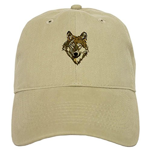 CafePress - Lone Wolf Baseball Cap - Baseball Cap with Adjustable Closure, Unique Printed Baseball - Returns Lupine