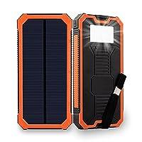 Solar Charger, Friengood 15000mAh Portab...