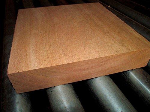 KILN Dried Genuine Mahogany Platter Blanks Lumber Wood Turning 10 X 10 X 2