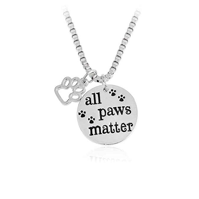 All Paws Matter Memorial Neckl...