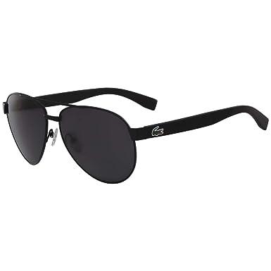 e09a32588f91 Sunglasses LACOSTE L 185 S 001 BLACK MATTE at Amazon Women s Clothing store