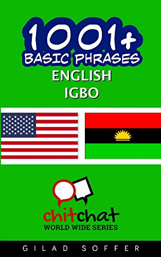 1001  Basic Phrases English   Igbo (English and Igbo Edition)