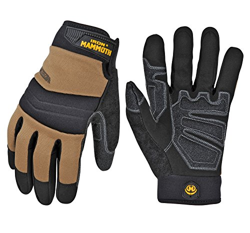 (IRON MAMMOTH 7605M Handyman Ce certificated work Gloves, Medium )