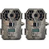 Stealth Cam G42 No-Glo Trail Game Camera STC-G42NG, 2 Pack