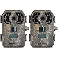 (2) Stealth Cam G42NG No-Glo Trail Game Cameras 10MP