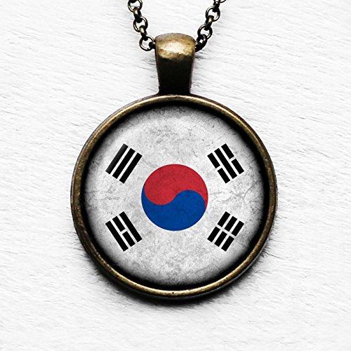 South Korea South Korean Flag Pendant & ()