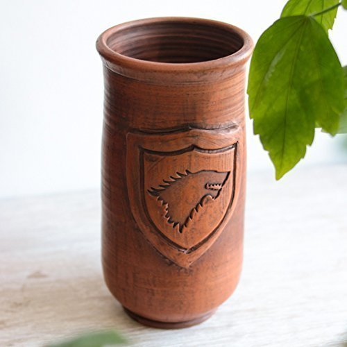Games of Throne Beer mug STARK Handmade ceramic mug Big cup Handmade pottery mug Gift for men Eco friendly Drinkware