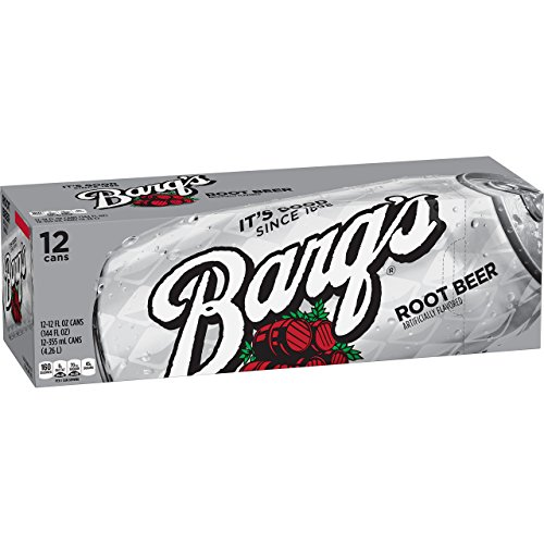 Barq's Root Beer, 12 Fluid Ounce (Pack of 12)