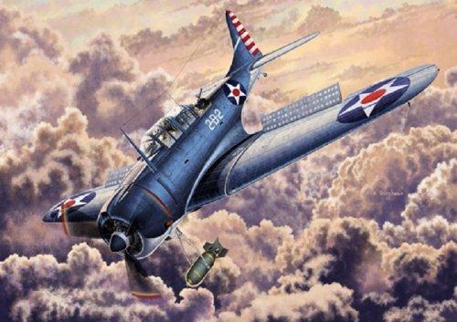 """1/48 USN USN SBD-2 """"Midway"""""""
