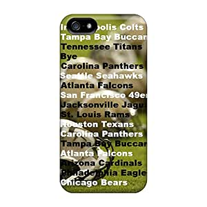 Shock Absorption Hard Phone Case For Iphone 5/5s (BPA5398ulBe) Provide Private Custom High-definition New Orleans Saints Skin
