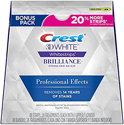 Amazon Com Crest 3d White Strips Professional Effects Teeth