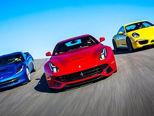 2014 Ferrari F12 Berlinetta vs 2014 Chevrolet Corvette C7 vs 2013 Porsche 911 C4S!