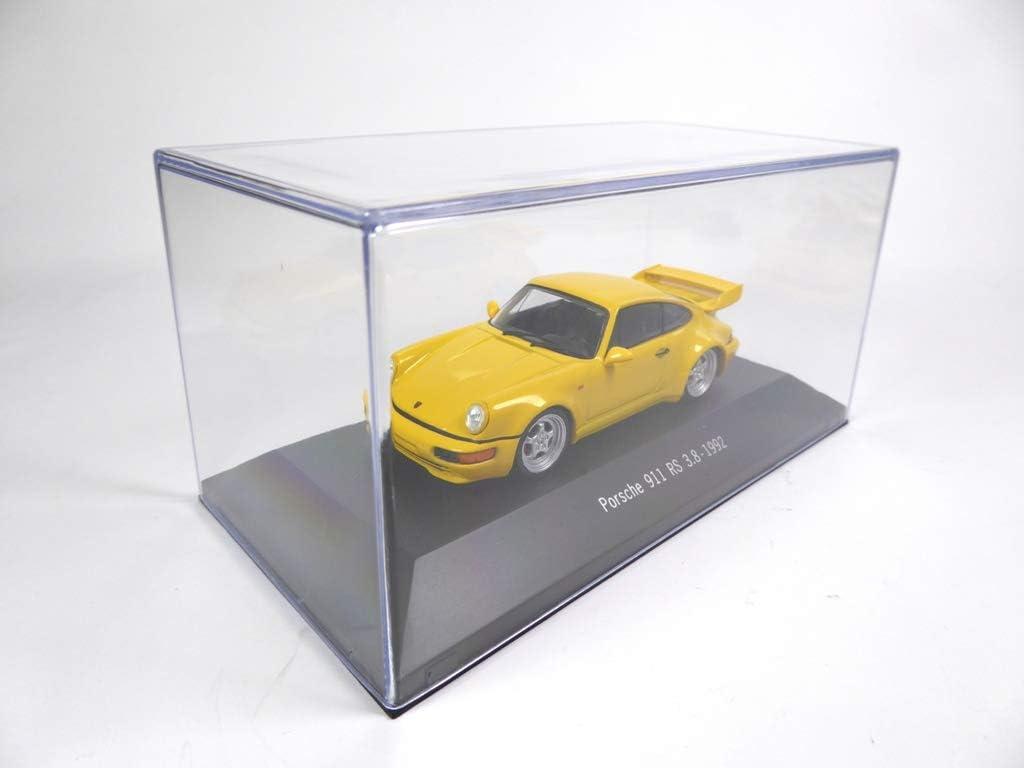 Lot von 2 Porsche 1//43: 901 von 1964 blau 911 RS 3.8 4001 + 4016 1992 gelb 964