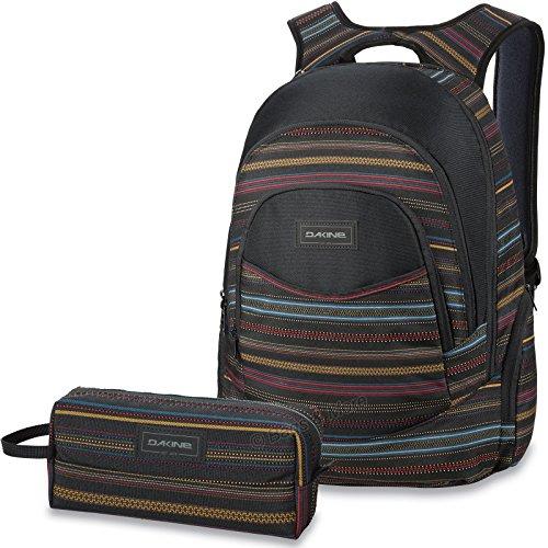 DAKINE 2er SET Laptop Rucksack Schulrucksack PROM + ACCESSORY CASE Mäppchen Nevada o6TOGB