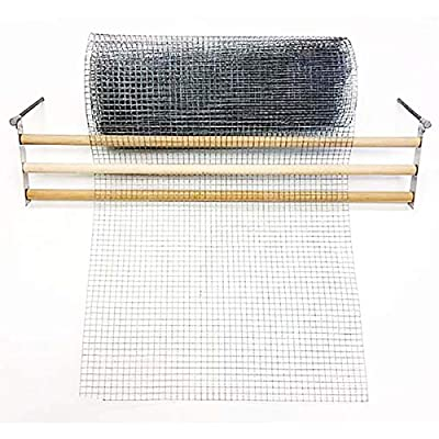 Chicken Wire Rolled Fence Flattener Straightener - Makes Rolled Wire Fencing Flat Before Application New to Market July 7 2019