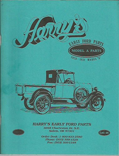 BRATTON'S ANTIQUE AUTO PARTS and FORD MODEL A: Harry: Amazon