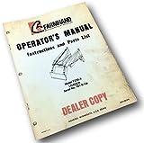 Farmhand F235-A Farm Loader Operators Owners Manual Instructions Parts List