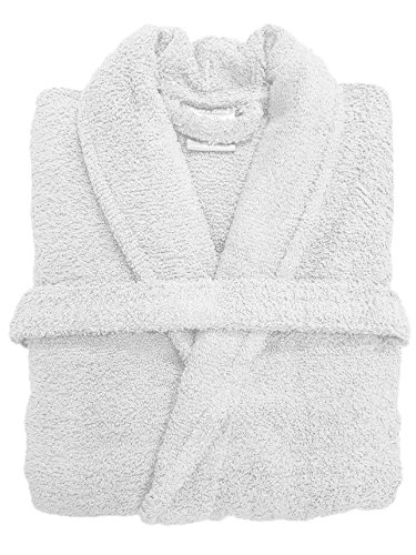 Spa Collection Home Mens and Ladies 100% Cotton 550GSM Terry Towelling  Adults Shawl Collar Bathrobe c5c9553d4