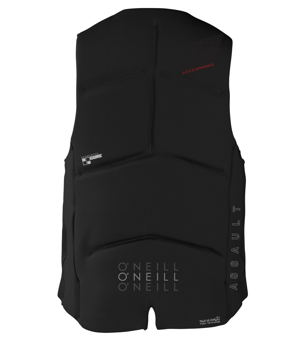 O'Neill Wetsuits  Men's Assault USCG Life Vest,Black,Medium by O'Neill Wetsuits (Image #2)
