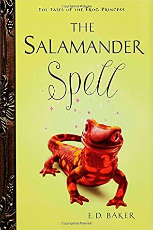 book cover of The Salamander Spell