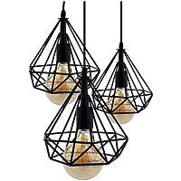 CASA.S ® Lámpara de techo Vintage 3L Cage