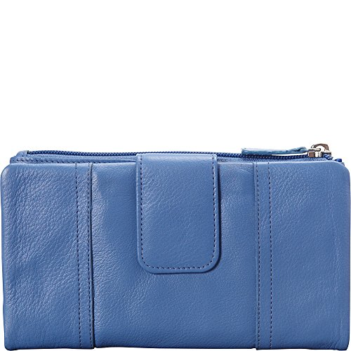 mancini-leather-goods-rfid-secure-collection-ladies-medium-clutch-wallet-sky