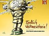 Endlich Weltmeisterin: Stuttmann-Karikaturen 2014