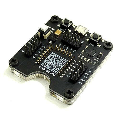 - Beaster ESP8266 Burner Fixture Test Board Minimum System Development Board for ESP-12S/ESP-12E/ESP-12F/ESP-07 Series Module