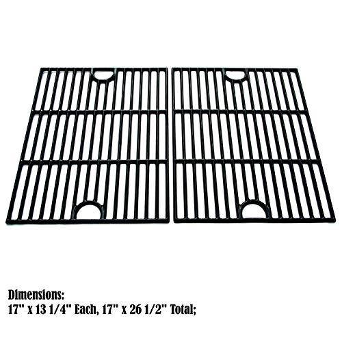 C104 Porcelain Cast Iron Cooking grid Replacement Kenmore,Uniflame,K-Mart,Nexgrill,Uberhaus Gas Grill ()