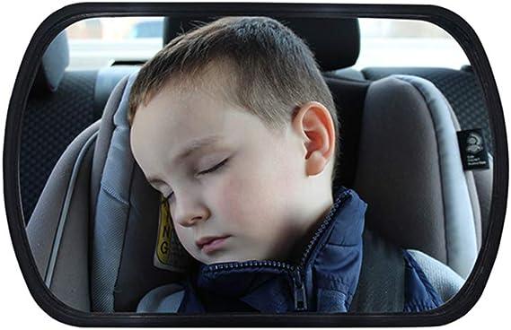 Miroir de voiture YSHTANJ- D/écoration int/érieure de voiture si/ège arri/ère de s/écurit/é pour enfant r/étroviseur r/églable r/étroviseur pour b/éb/é pare-brise