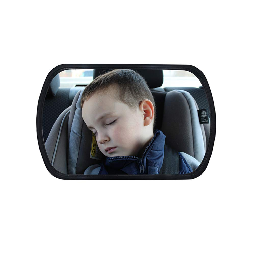 YSHtanj Car Mirror Interior Decoration Rearview Mirror Infant Baby Car Windshield Back Seat Child Safety Adjustable Rearview Mirror