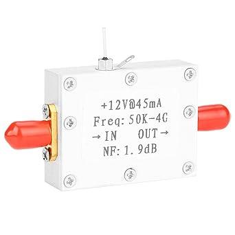 Amplificador de bajo ruido, LNA Bajo nivel de ruido 50K-4G Alta ...