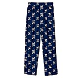 MLB Infant/Toddler Boys' Milwaukee Brewers Printed Pant (Heritage Blue, Small/2T)