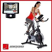 Sportstech Profi Indoor Cycle SX200 mit Smartphone App Steuerung + Google...