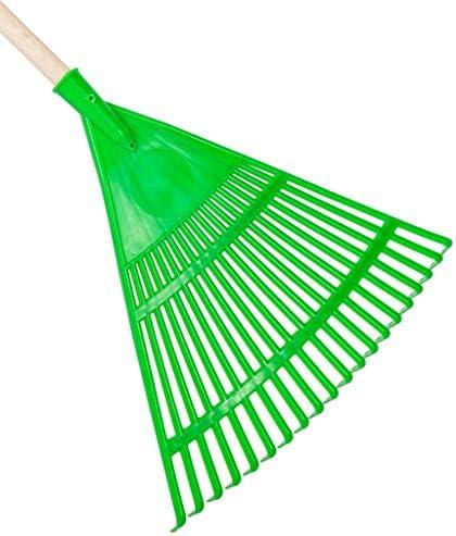 1 escoba de jardín de plástico, modelo triangular.: Amazon.es: Bricolaje y herramientas