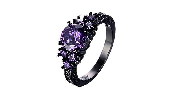 F/&T JEWEL Fashion Cute Peridot Ring Yellow Gold Filled Jewelry Ring For Women Wedding Rings