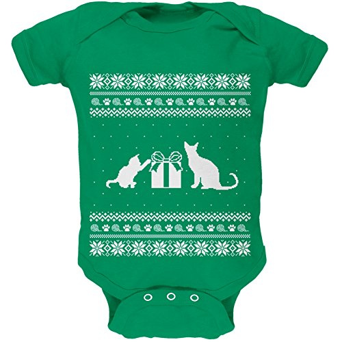 cats-ugly-christmas-sweater-green-baby-one-piece-3-month