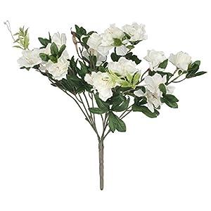 "OakRidge Silk Azalea Bush - Artificial Flowers Outdoor Décor, 17"" High 6"