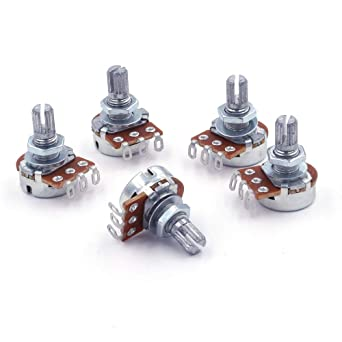 Swell 5 X Axial 22Kw A22K Mono Logarithmic Potentiometers For Soldered Wiring Cloud Strefoxcilixyz