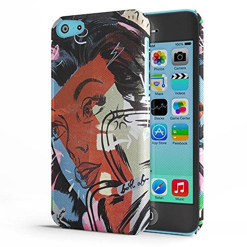 Koveru Back Cover Case for Apple iPhone 5C - Girl Next Door
