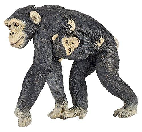 Papo Chimpanzee and Baby Figure Multicolor 50194