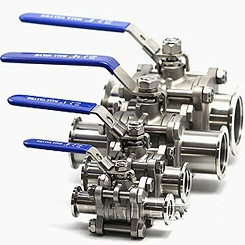 CCDZ Ball Valve Vacuum Isolation Both Sides KF16 K25 K40 K50 Flange Stainless Steel Body (KF16)