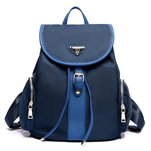 Sra bolsos de hombro/Mochila viento de la universidad/Oxford tela de la mochila de gran capacidad-A C