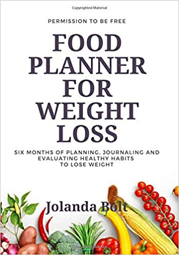 amazon food planner for weight loss six months of planning