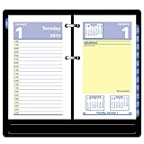 "AT-A-GLANCE 2019 Daily Desk Calendar Refill, QuickNotes, 3-1/2"" x 6"", Loose Leaf (E51750)"